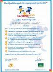 Zertifikat Bewegungs-Kita
